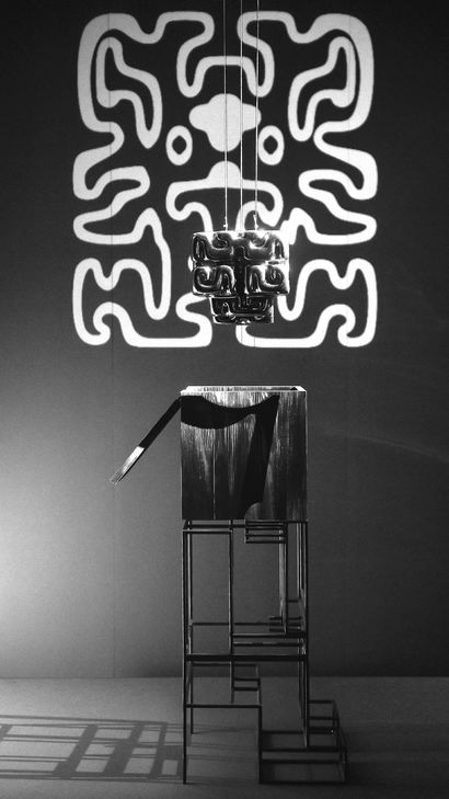 Brain Drain Tales - a Sculpture & Installation Artowrk by TOTEM