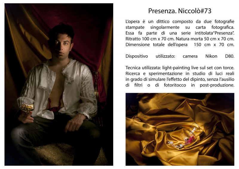 Niccolò#73 - a Photographic Art by Serena Sarti