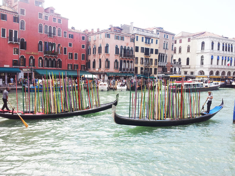 Manifesto for clean Venice - a Sculpture & Installation by MIHAI  TOPESCU
