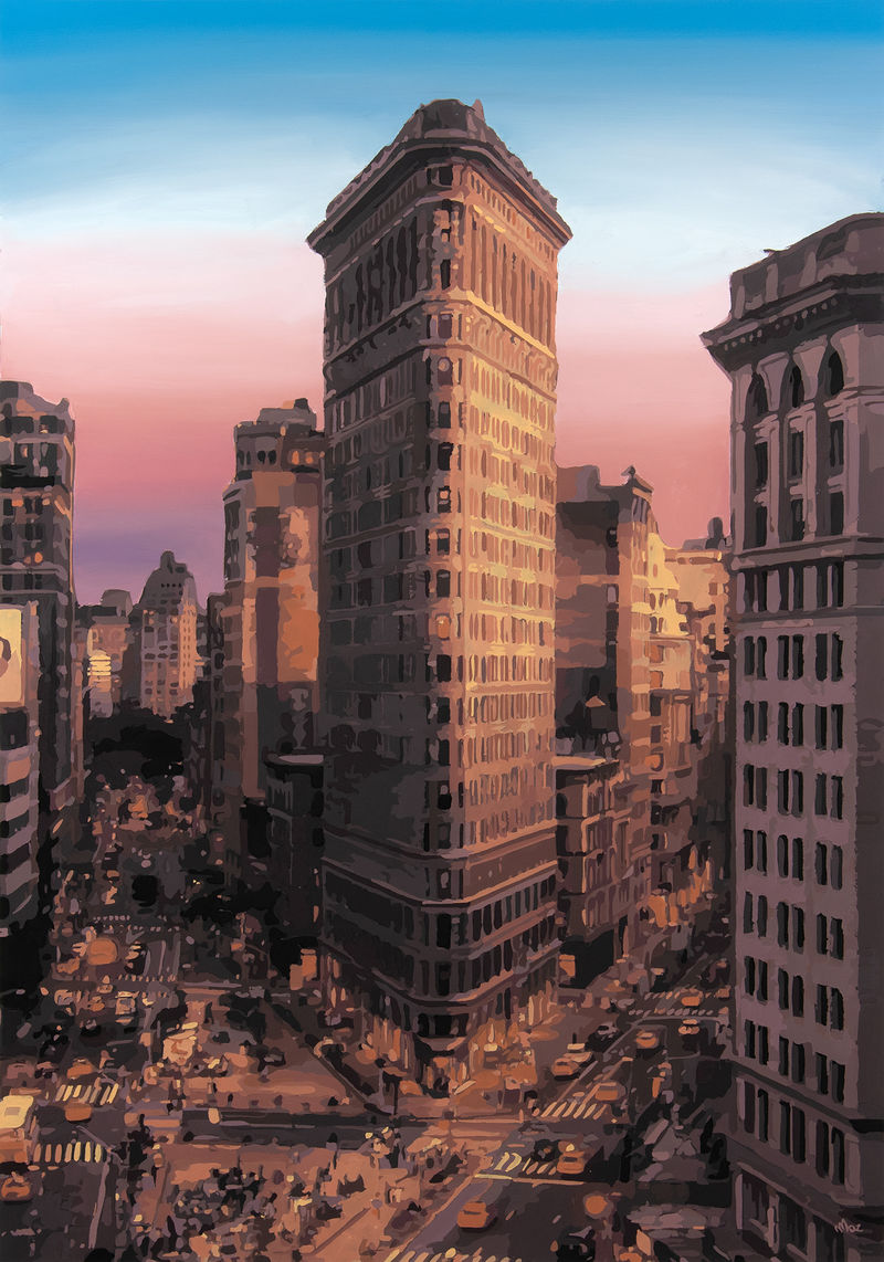 Flatiron Building - a Paint by Moz