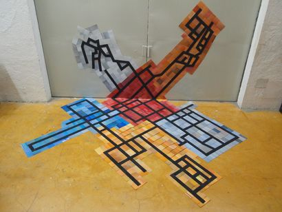 espacio e identidad (space and identity) - a Sculpture & Installation Artowrk by Raul Villaseñor