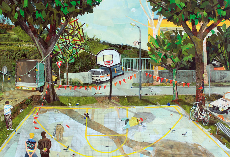 New playground session - a Paint by Giovanni Lanzoni