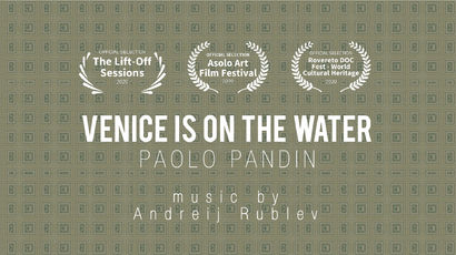 Venice is on the water - a Video Art Artowrk by Paolo Pandin