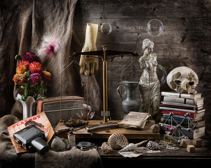 Vanitas - A Photographic Art Artwork by Germany Geiss
