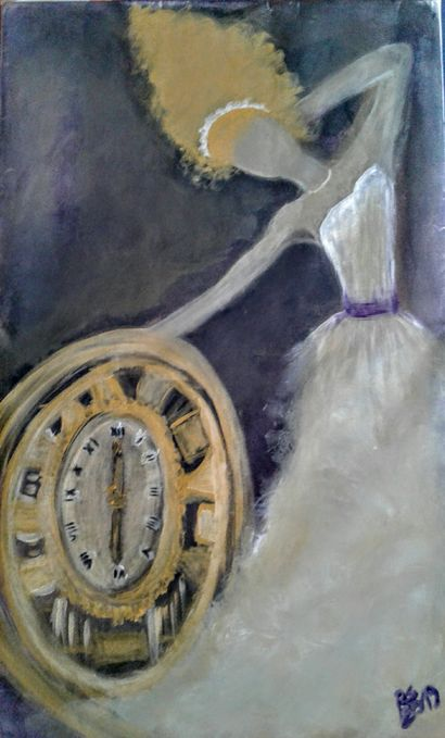 Il tempo - a Paint Artowrk by Roberta