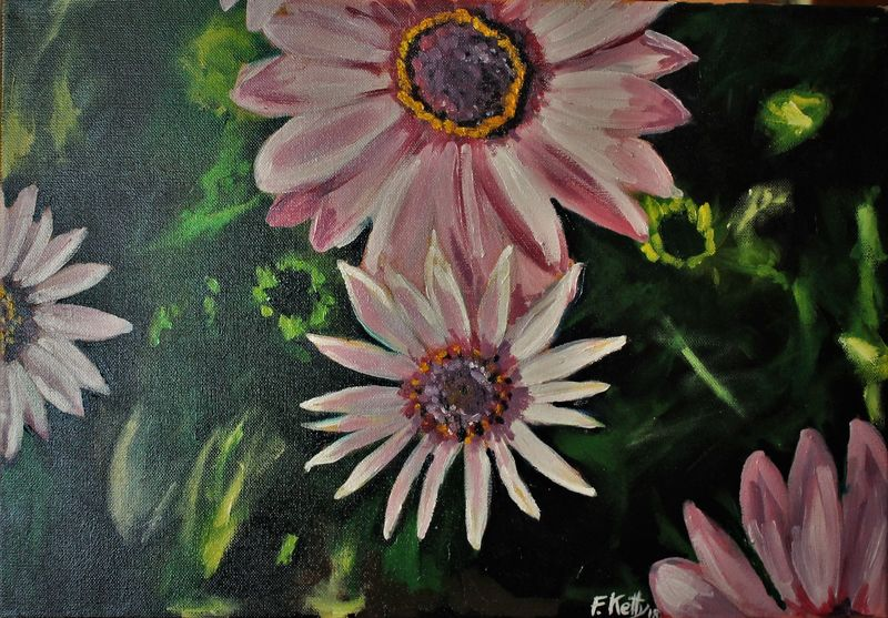 lilla in fiore - a Paint by ketty Fuser