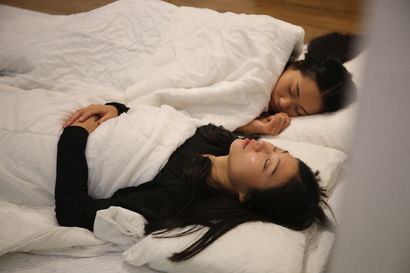 Sleep with the Artist - a Performance Artowrk by huiming Hu