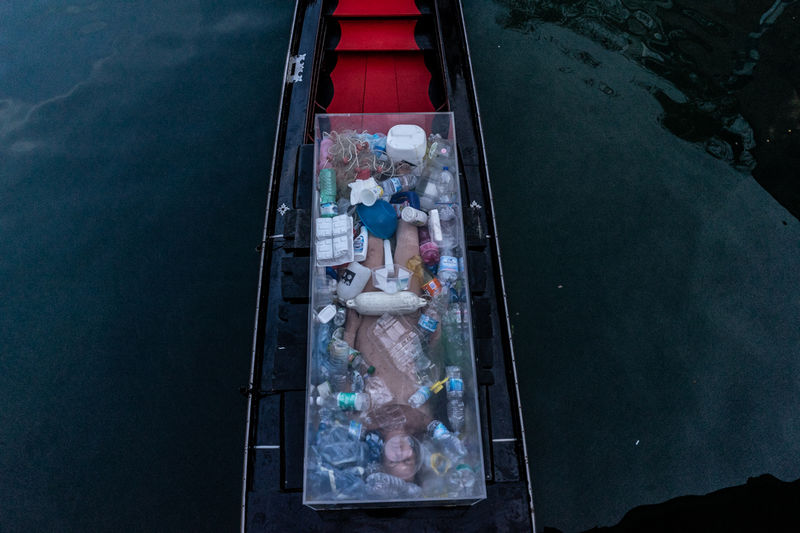 Death by Plastic (Venice) - a Photographic Art by Anne-Katrin Spiess