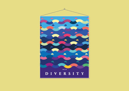 Dive into Diversity - A Digital Graphics and Cartoon Artwork by colorchiara