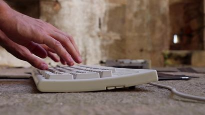 Typing my Conscience - a Video Art Artowrk by Lorenzo Papanti