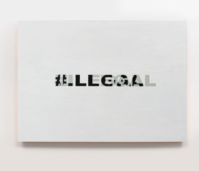 I#LLEGAL - a Paint by Biz