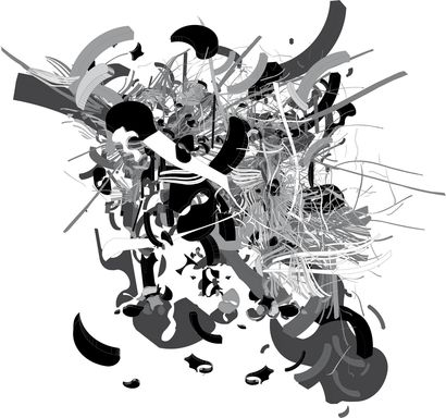 Figure - a Digital Graphics Artowrk by Barsikian Rodolphe