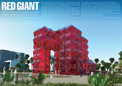 Red Giant - A Art Design Artwork by TOTEM