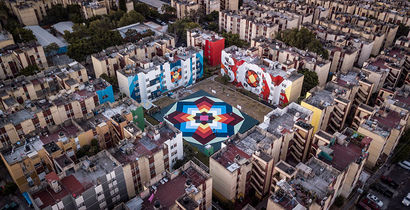 NIERIKA - A Urban Art Artwork by Boa Mistura