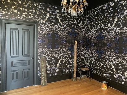 Dark Daisies in the Ancestor Room  - a Sculpture & Installation Artowrk by Danielle  Mourning
