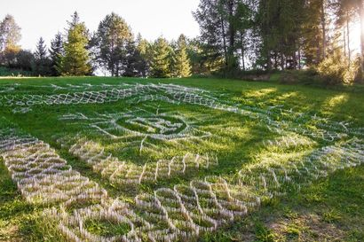 RELIC - FOUND ART - a Land Art Artowrk by Greta Kardi