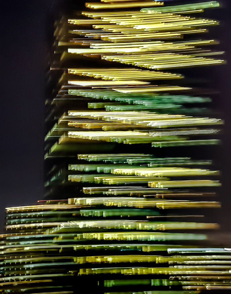 Tower of Light - a Photographic Art by Shlomo Israeli