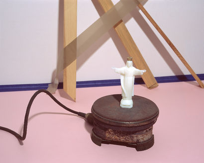 jesus was landing on my table one day - A Photographic Art Artwork by Kamil Matziol