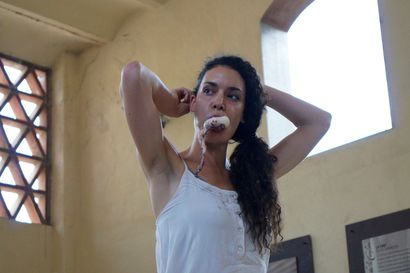 Self-Sufficient? - a Performance Artowrk by ALKYONI Bouchalaki