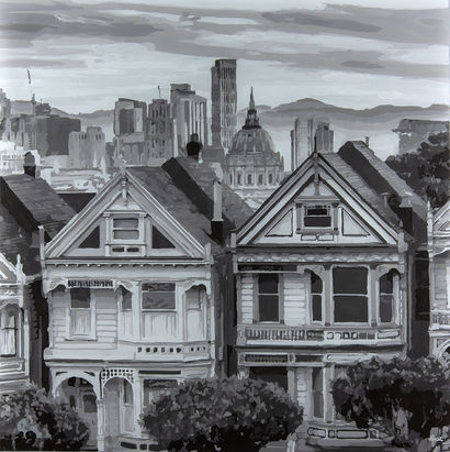 Painted ladies - A Paint Artwork by Moz