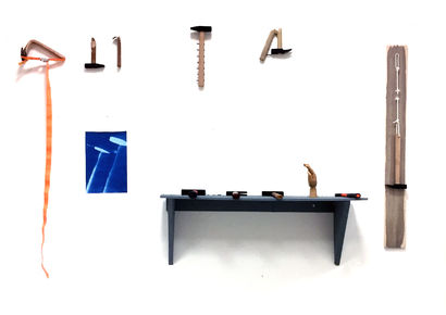 Heidegger's Hammers - A Sculpture & Installation Artwork by Eric Frey
