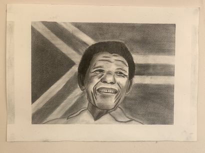 Freedom in our lifetime  - a Urban Art Artowrk by Lubabalo Dlwathi