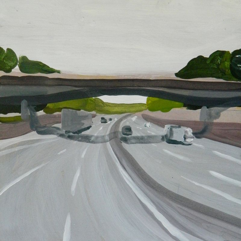 Mirabilia Highway #2 - a Paint by