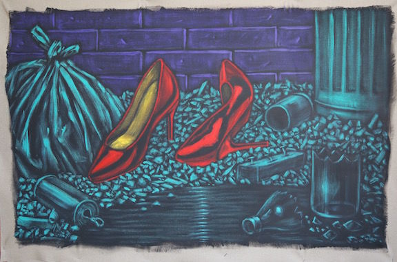 Stiletto Heel - a Paint by Perrot Cyrill