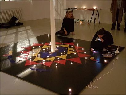 Yantra – A Fragmented Totality - A Performance Artwork by Isabelle Derigo