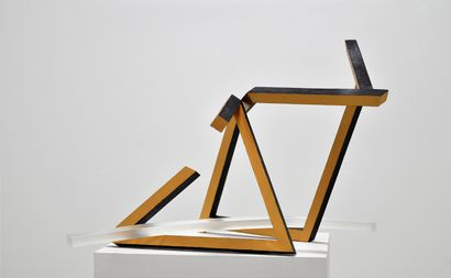 Pentagon and Triangle - a Sculpture & Installation Artowrk by Michael Drolet