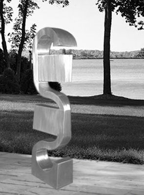 Waiting - a Sculpture & Installation by JD Peppers