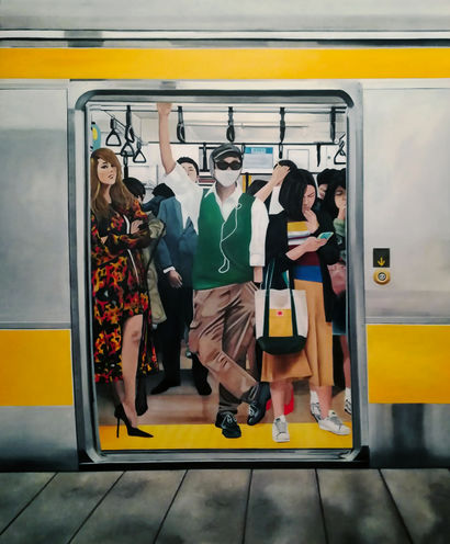 Underground - A Paint Artwork by Pasquale Pacelli
