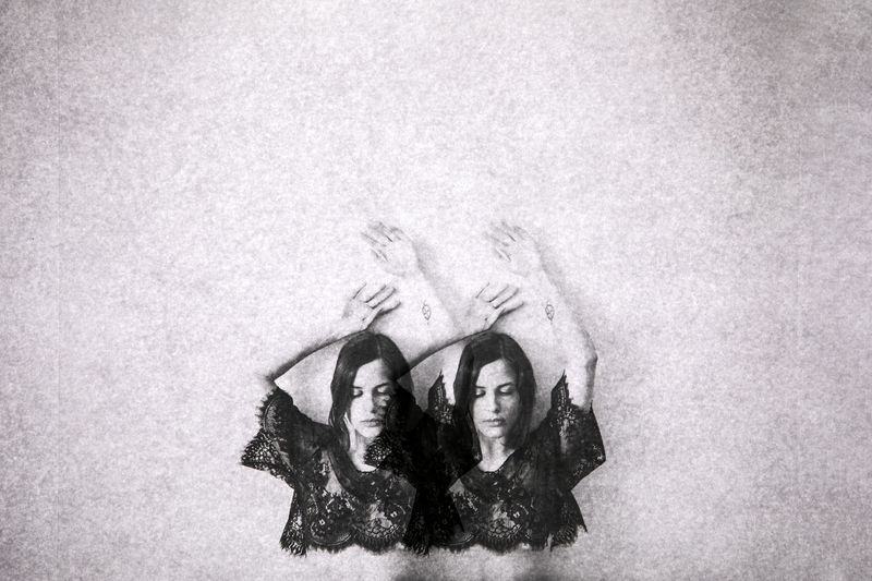 Divided (self-portrait) - a Photographic Art by Francesca Marta