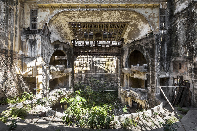 Abandoned Theater, Cuba, 2015 - a Photographic Art by Jonk