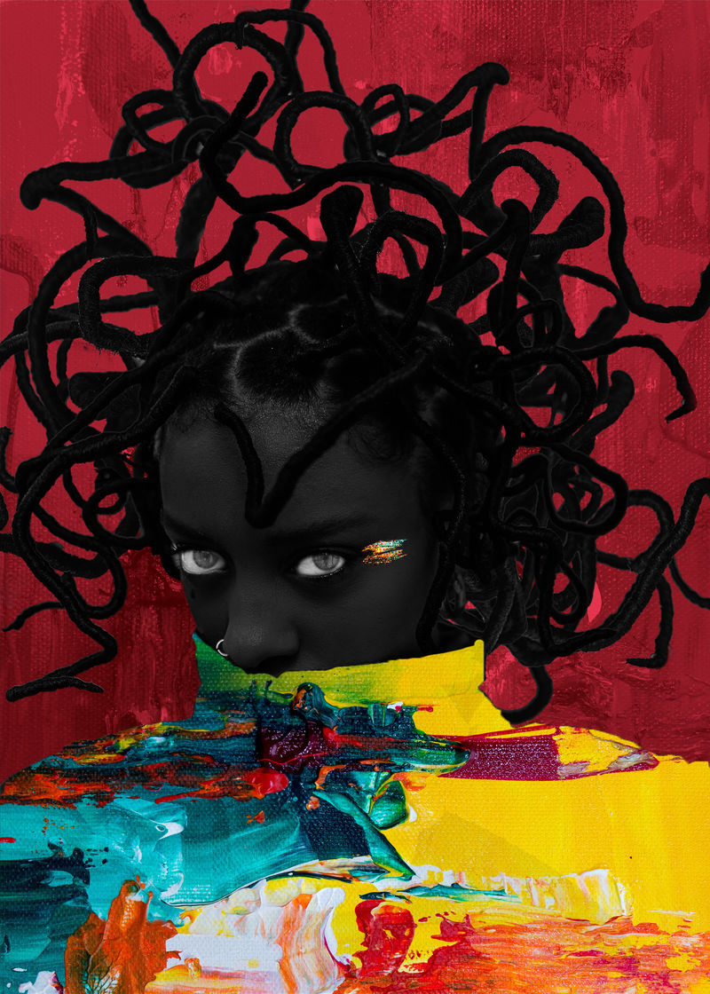 Colorfull darkness - a Digital Graphics and Cartoon by Zatri