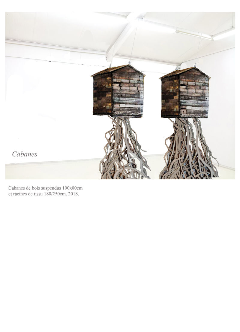 Cabanes - a Sculpture & Installation by Christ