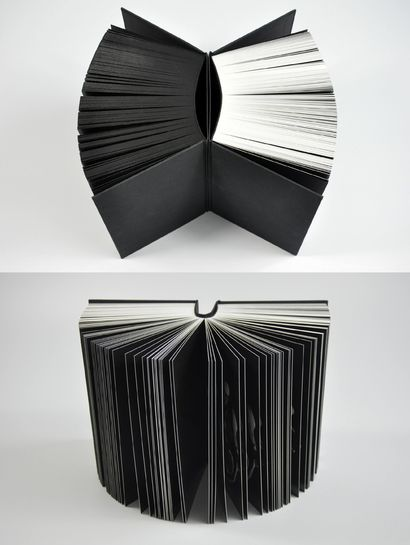 Vanitas book series (White and black versions) - A Sculpture & Installation Artwork by Danne Ojeda