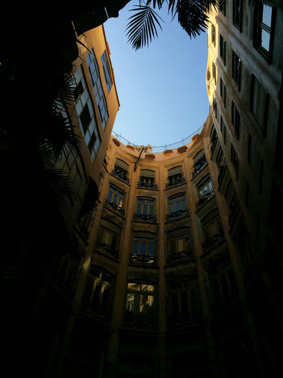 Des dels patis interiors de La Pedrera - A Photographic Art Artwork by Karin Merchan
