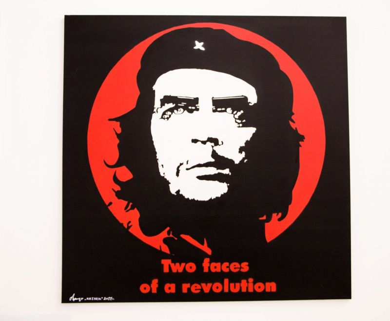 Two faces of revolution - a Paint by kAshak
