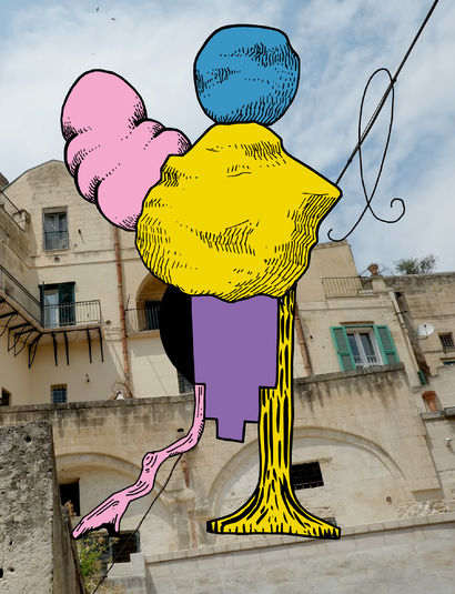 Matera - a Digital Graphics and Cartoon Artowrk by Francisco Lopez