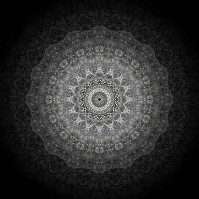 Mandala in integration unconsciousness - A Photographic Art Artwork by BYOUNG HO RHEE