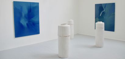 Absence, Presence (Vessel I) - A Sculpture & Installation Artwork by Fleur Simon