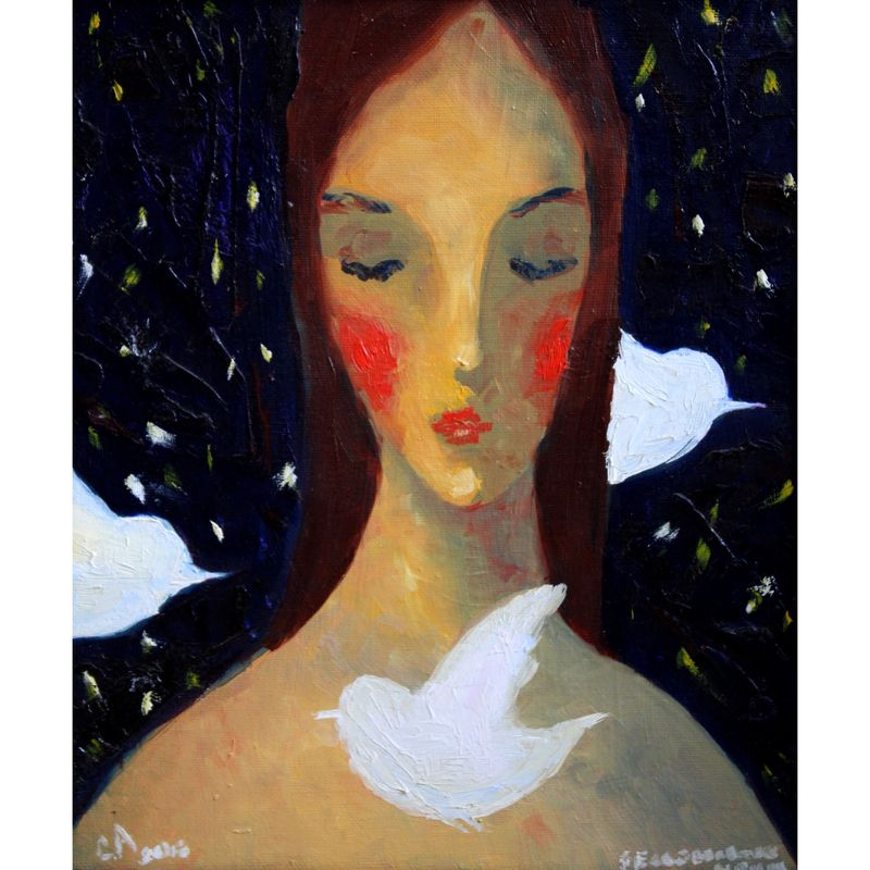 Sleepless nights - a Paint by Sona Torozyan
