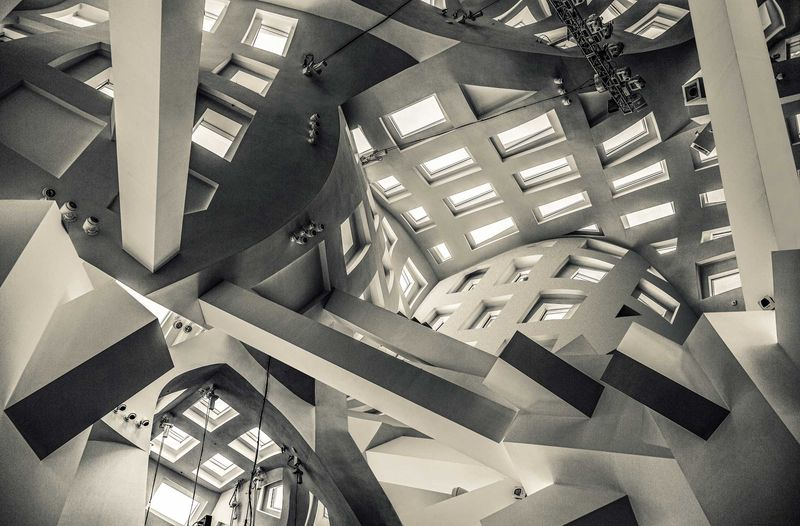 When Escher Meets Gehry - a Photographic Art by Christopher Sheils