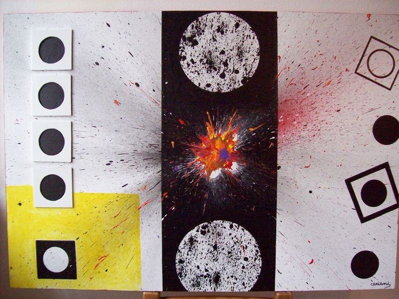 black  holes - a Paint by ceriani