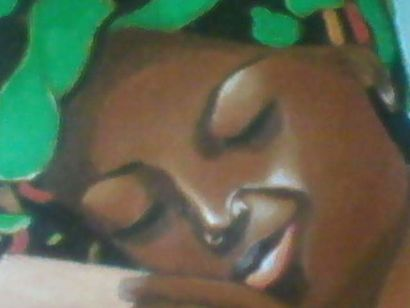 Day Dreaming - a Paint Artowrk by Jeremiah Ludaka