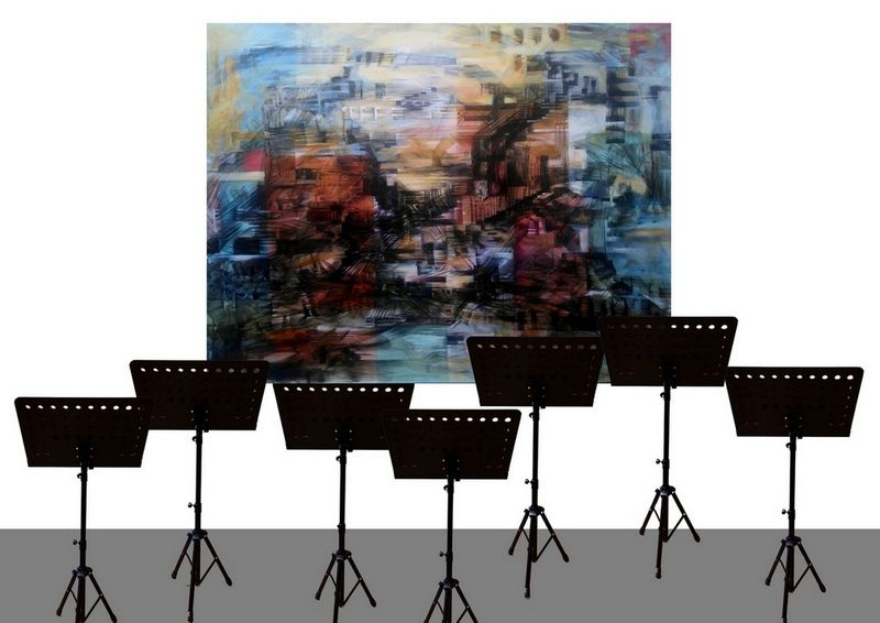 VARIATIONS FOR ORCHESTRA - a Sculpture & Installation by