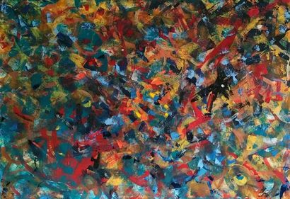 An  indian summer abstract  - A Paint Artwork by Karibou