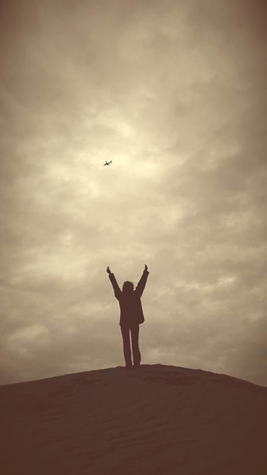 Girl with free wings  - a Photographic Art by shaji n Npushpangathan