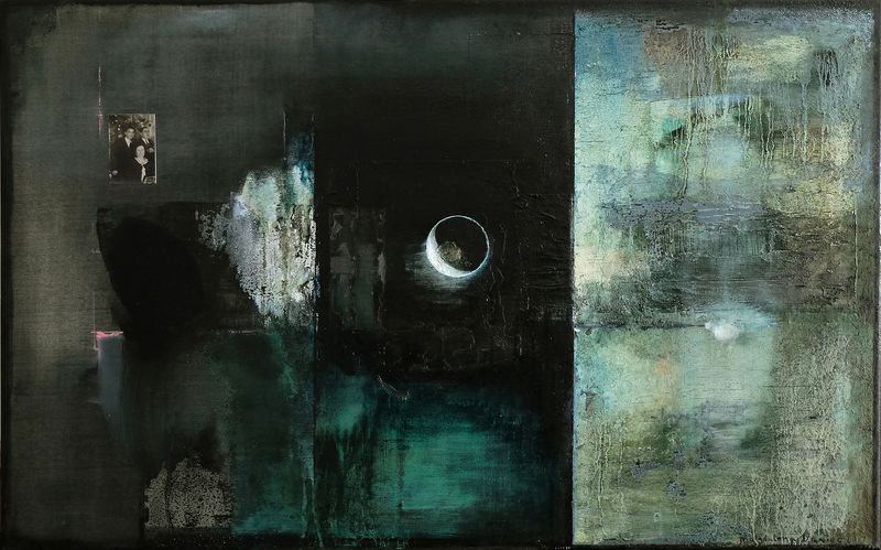 Influence of the Moon Eclipse - a Paint by Magdalena Daniec